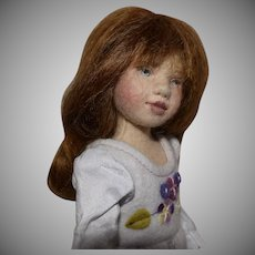 "Maggie Iacono ""Maggie Made"" Felt Artist Doll"