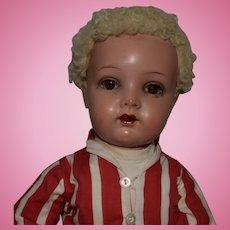 German Kammer & Reinhardt Celluloid Socket Head Child Doll