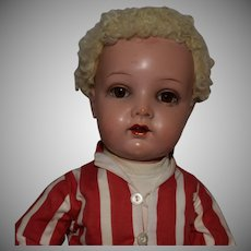 German Kammer & Reinhardt Celluloid Socket Head Child Doll