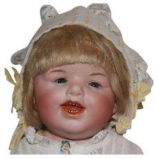 Gebruder Heubach German Bisque Head Grinning Character Doll