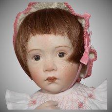 Porcelain OOAK Doll by Italian Artist Beatrice Perini