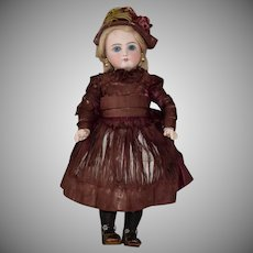 German Bisque Head Belton Type Doll Made for the French Market