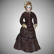 Jumeau French Fashion Poupee Peau in Original Costume