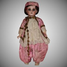 All Original and Fabulously Unique SFBJ East Indian Bisque Head Doll