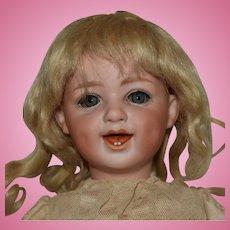Gebruder Heubach Laughing Character German Bisque Head Doll