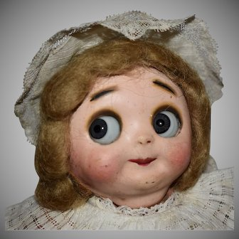 Hug Me Kid Googly Composition Doll