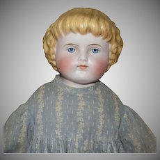 ABG German Bisque Shoulder Head Doll