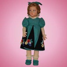 """All Original Lenci Felt Doll """"Lucia"""""""
