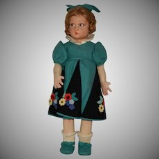 "All Original Lenci Felt Doll ""Lucia"""