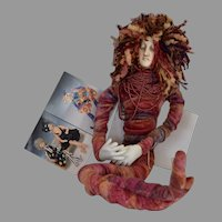 Twisted Sisters OOAK Cloth Doll