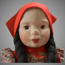 Works Project Administration (WPA) Cloth Doll