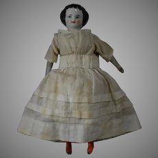 Flat Top China Head Doll in Smaller Doll House Size