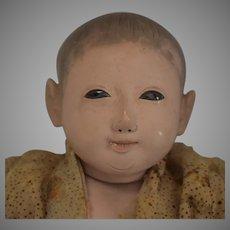 Ichimatsu Papier Mache/Gogun Japanese Play Doll