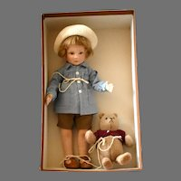 """""""Winnie-the-Pooh—Premier Collection"""" with Pooh and Christopher Robin in Original Box"""