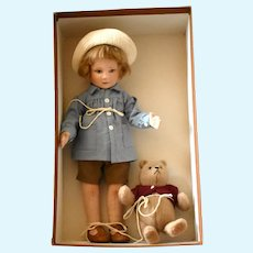 """Winnie-the-Pooh—Premier Collection"" with Pooh and Christopher Robin in Original Box"