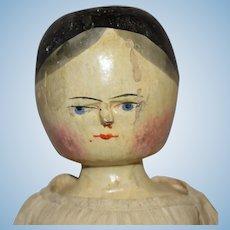 Large Peg Wooden Grodner Tal Doll