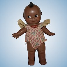 Rose O'Neill Black Composition Kewpie Doll by the Cameo Doll Company