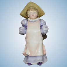 Antique Kate Greenaway Style German China Child Figurine