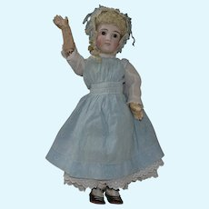 Large German Bisque Head Belton Type Doll with Original Body