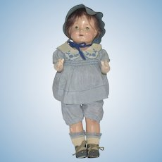 """Early Effanbee """"Patsy"""" Composition Doll with Original Costume"""