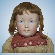 Kestner German Bisque Head Character Doll 183