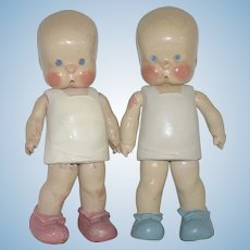 HEBee SHEBee Composition Character Doll Pair Designed by Twelvetrees