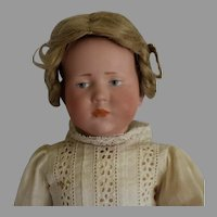 "Antique German Character Bisque Head Child Mold 101 ""Marie"""