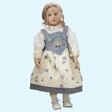 Vinyl German Schildkrot Character Doll