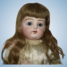 Antique F. G. Francois Gaultier French Bisque Bebe Doll with Block Letters F.7.G.