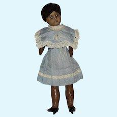 SFBJ Brown French Bisque Head Doll by SFBJ