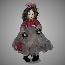 "Petite Madame Alexander Cloth All Original ""Little Shaver"" Doll"