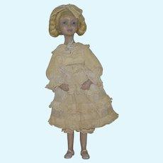 Edna Dali (Daly) All Original OOAK Fimo Artist Doll