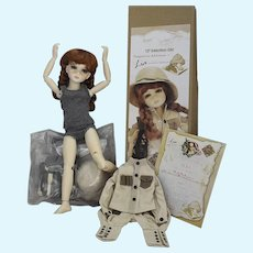 Lia Journey to Adventure InMotion Doll 2018 UFDC Convention Souvenir Doll by Ruby Red Galleria