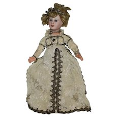 Jumeau French Bisque Head Doll from the Great Lady of Fashion Series