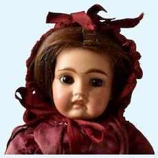 Antique Bru Type Bisque Mulatto Bisque Head Belton Doll