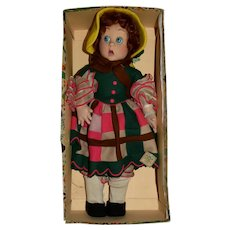 Early Lenci Original Surprise Eye Doll with her Box