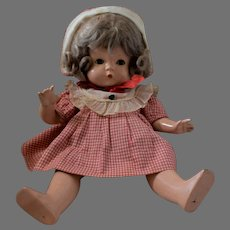 """Effanbee Composition Doll """"Patsy"""" in Original Costume"""