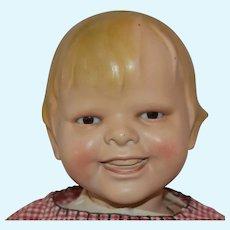 """Gladdie"" Biscaloid Flange Neck Character Doll Designed by Helen Webster Jensen"