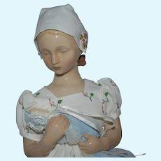 Limited First Edition Danish Bing & Grondahl China Doll Figurine