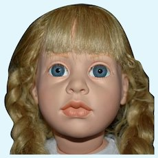 Vintage Limited Edition Madame Alexander Vinyl Gunzel Character Doll in Original Condition and Clothing