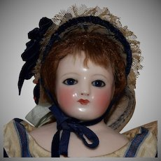 French China Shoulder Head Poupee Peau Fashion Doll