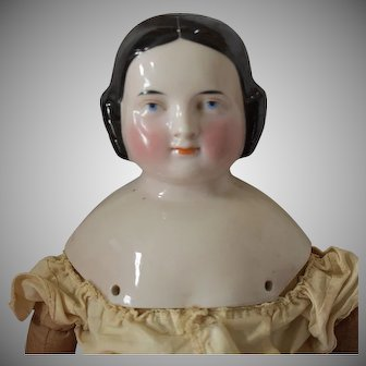 Kister German Covered Wagon Hairstyle China Head Doll