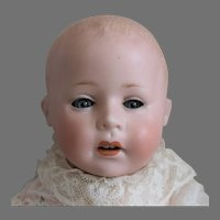 """German Bisque Character Baby """"Lori"""" by Swaine & Company"""