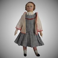OOAK Cloth Artist Doll, Iva Ruth, by Rhonda King