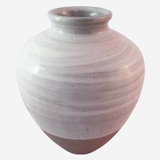 Malcolm Pepper (British 1937-1980) Studio Pottery Large Hakame Glazed Jar