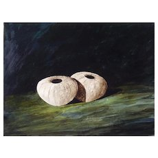 Peter Edge (British b.1965) Urchins Original Acrylic
