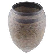 John Bedding (British b.1947) Studio Pottery Large Raku Vase