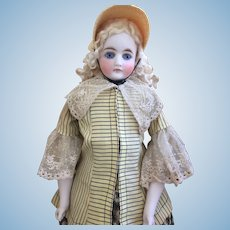 Early Bisque Fashion-type doll 1880s