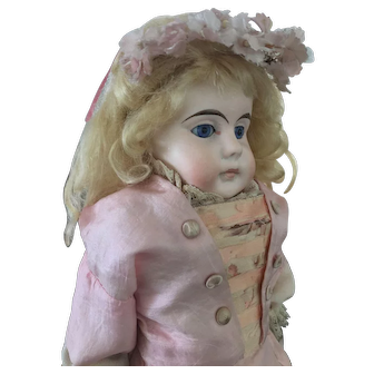 """Early Bisque head 'Fashion-type' doll 14 """"(36 cm)"""