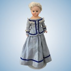 Sonneberg Early Patent Washable Doll 45 cm